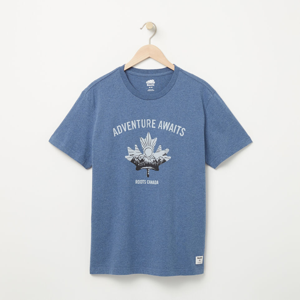 Roots-undefined-Mens Roots Adventure T-shirt-undefined-A