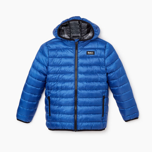 Roots-Gifts Gifts For Kids-Kids Roots Puffer Jacket-Azure Blue-A