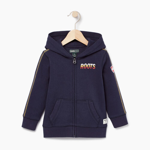 Roots-Clearance Kids-Toddler Roots Speedy Full Zip Hoody-Navy Blazer-A