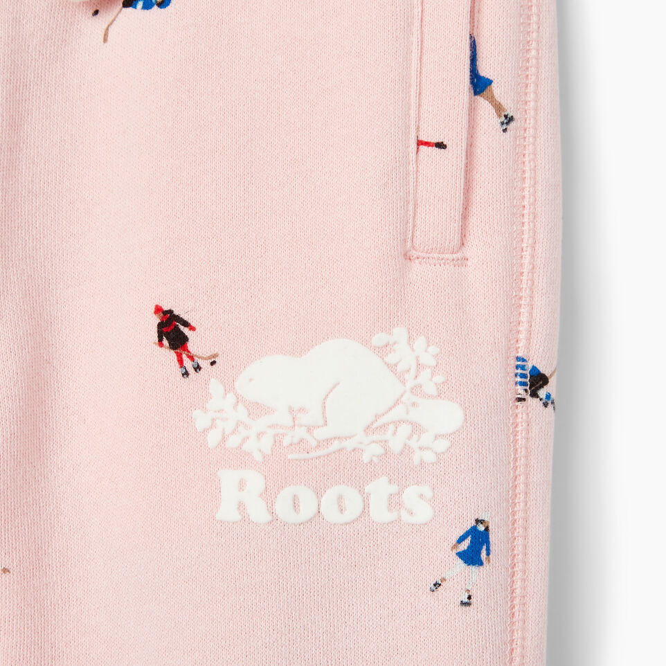 Roots-Kids Our Favourite New Arrivals-Toddler Skater AOP Sweatpant-Light Pink-D