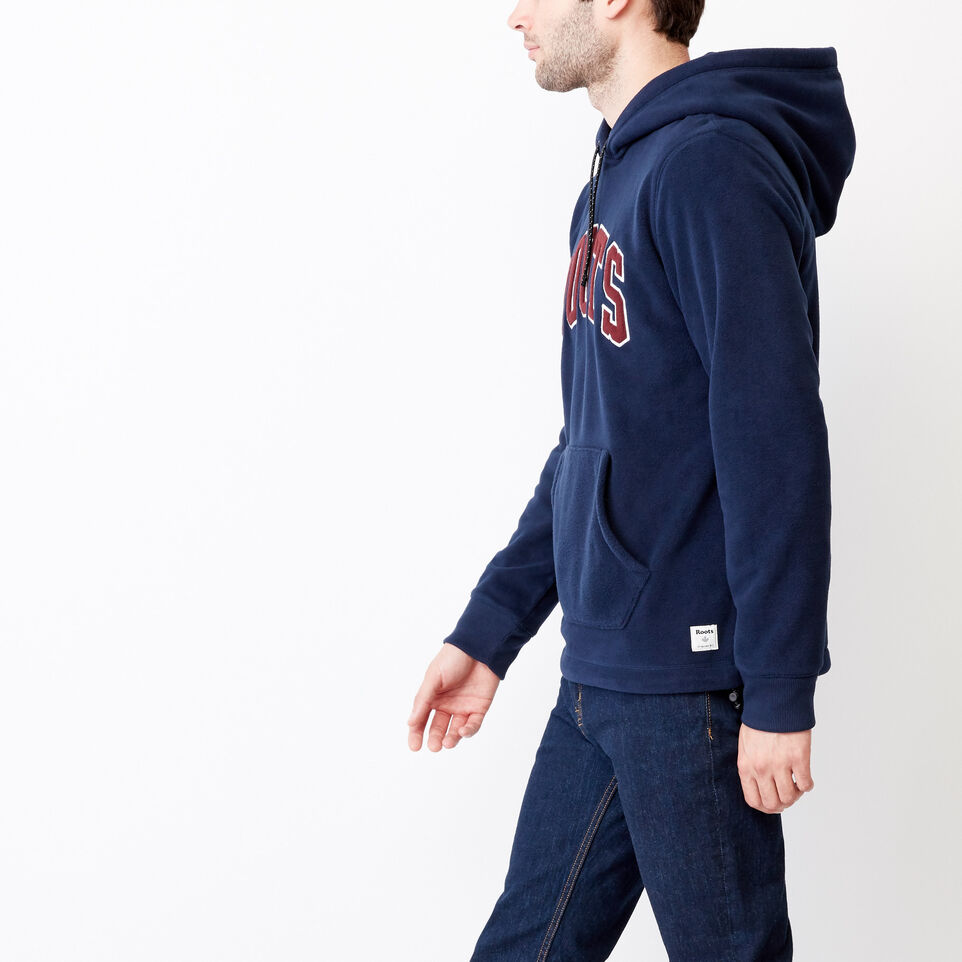 Roots-Winter Sale Men-Roots Vault Polar Hoody-Navy Blazer-C