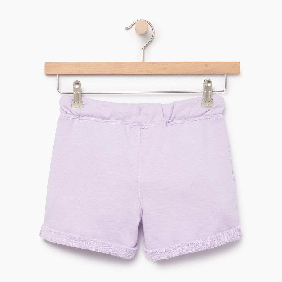 Roots-Kids Our Favourite New Arrivals-Girls Roots Beach Short-Lavendula-B