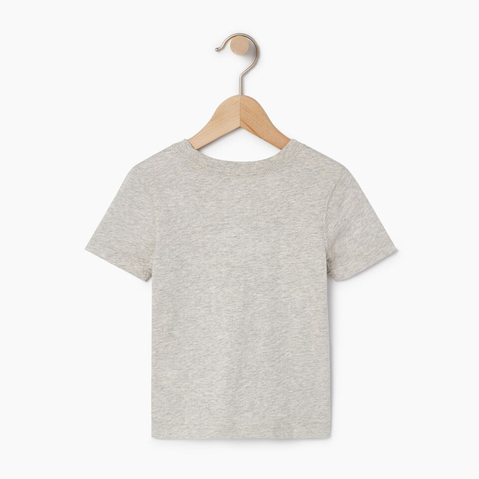 Roots-Kids Canada Collection-Toddler Canada T-shirt-Grey Mix Pepper-B