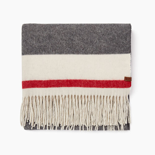 Roots-New For November The Roots Cabin Collection™-Roots Cabin Woven Scarf-Grey Oat Mix-A