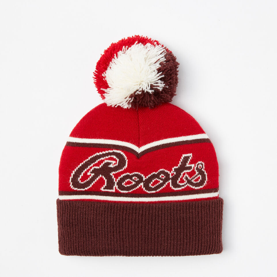 Roots-undefined-Toddler Canada Heritage Pom Pom Toque-undefined-B