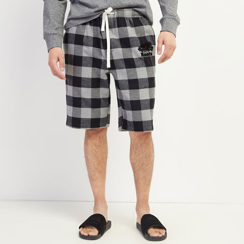 Roots-Men Clothing-Inglenook Lounge Short-Grey Mix-A