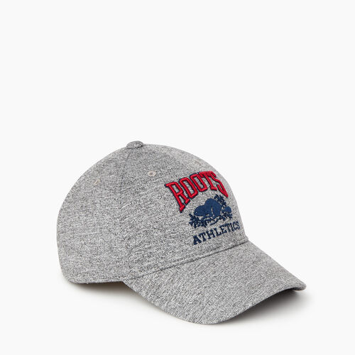 Roots-New For February Rba Collection-Heritage RBA Baseball Cap-Salt & Pepper-A