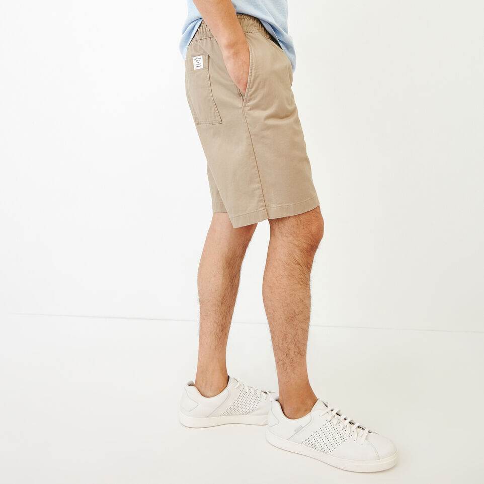 Roots-Men Our Favourite New Arrivals-Essential Short-Dark Khaki-C