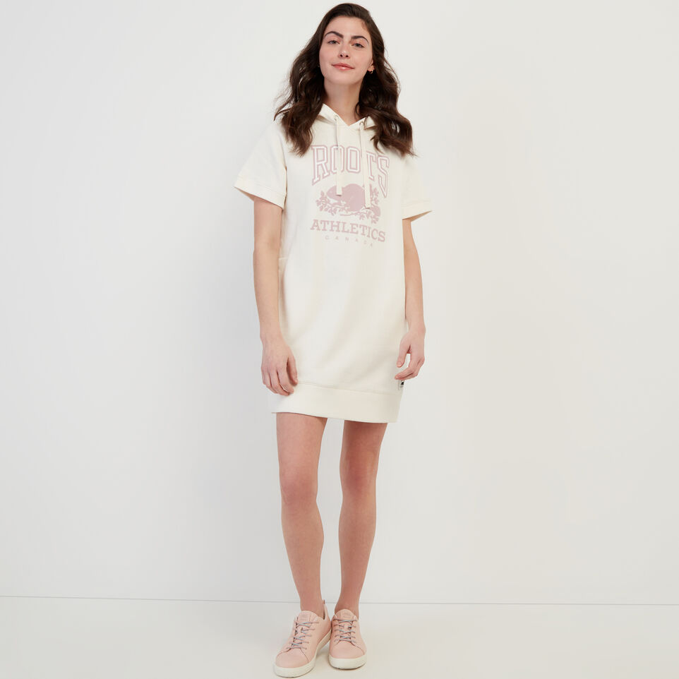 Roots-Women Our Favourite New Arrivals-RBA Hooded Dress-Egret-A