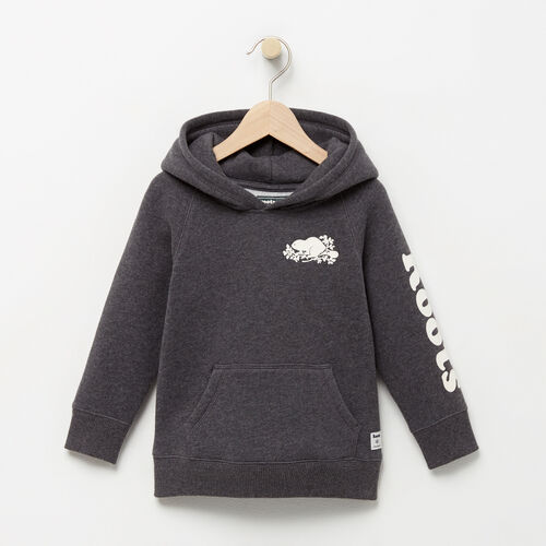Roots-Winter Sale Toddler-Toddler Roots Remix Hoody-Charcoal Mix-A