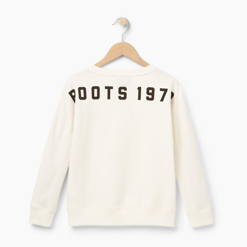 Roots-undefined-Chandail à col rond Roots pour filles-undefined-B