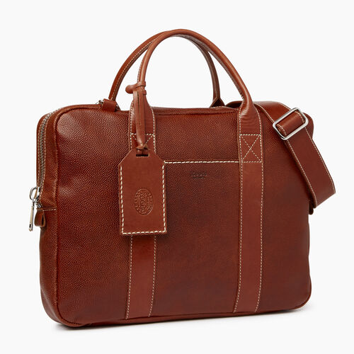 Roots-Leather Our Favourite New Arrivals-Wellington Laptop Bag Horween-Cognac-A
