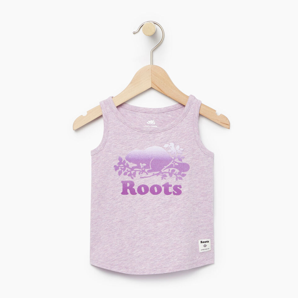Roots-Kids Our Favourite New Arrivals-Baby Gradient Cooper Beaver Tank-Lavendula Mix-A