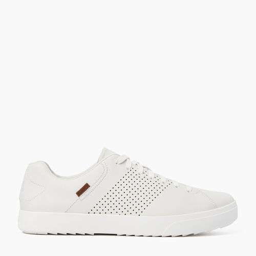 Roots-Footwear Men's Footwear-Mens Bellwoods Low Sneaker-White-A