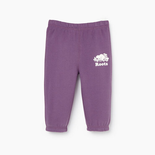 Roots-Kids Our Favourite New Arrivals-Baby Original Roots Sweatpant-Grape Jam-A