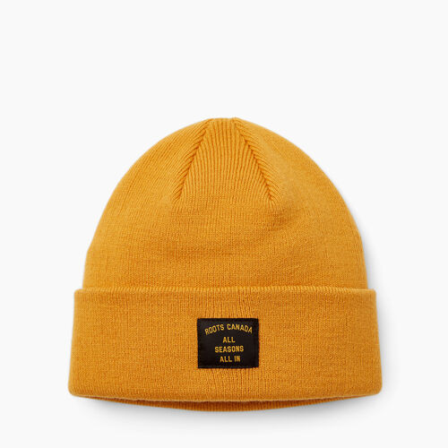 Roots-Women Accessories-Halifax Toque-Squash Yellow-A