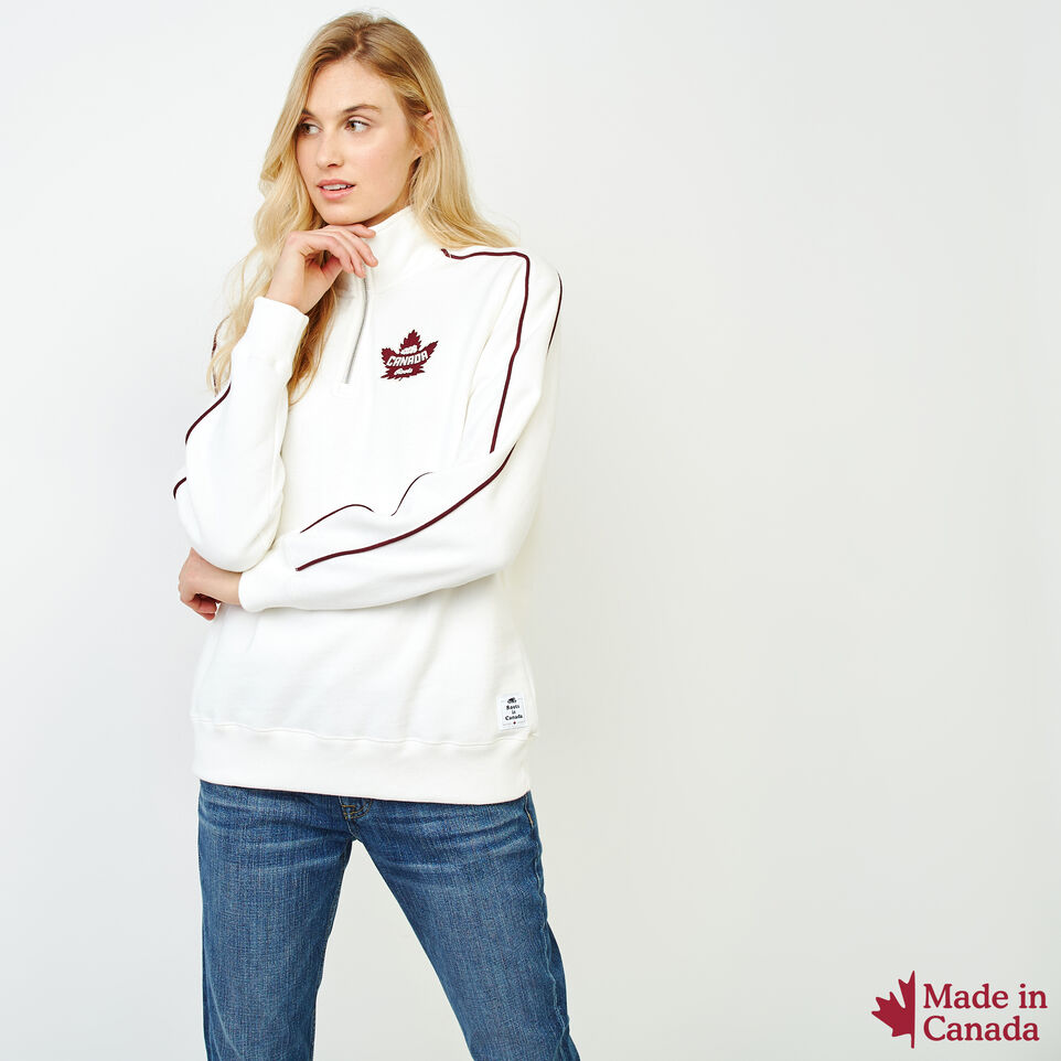 Roots-Women Our Favourite New Arrivals-Womens Canada Zip Stein-Pristine White-A