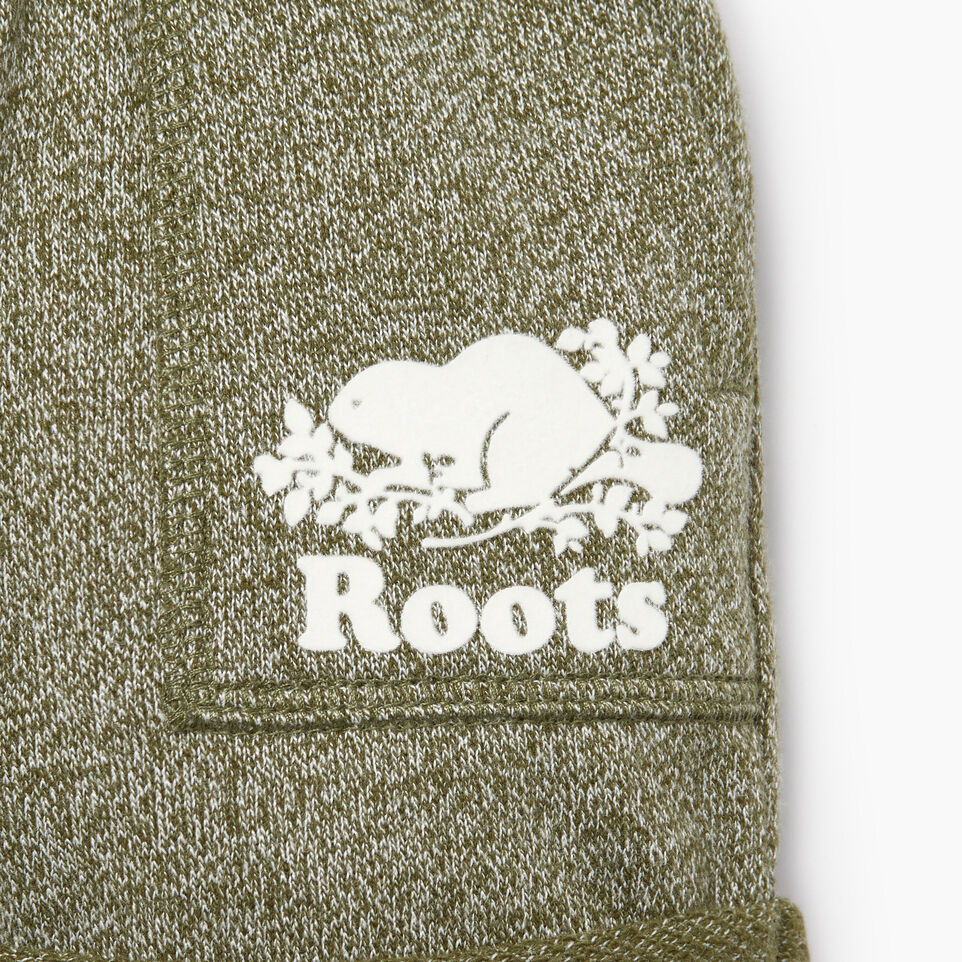 Roots-Kids Our Favourite New Arrivals-Baby Park Short-Winter Moss Pepper-D
