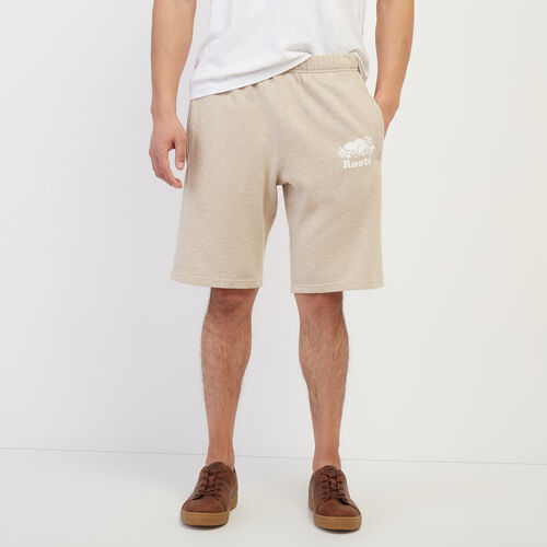 Roots-Men New Arrivals-Original Sweatshort-Flaxseed Mix-A