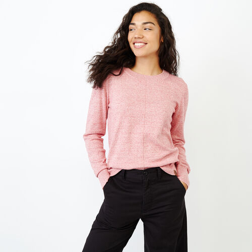 Roots-Women Sweaters & Cardigans-All Seasons Crew Sweater-Zephyr Mix-A