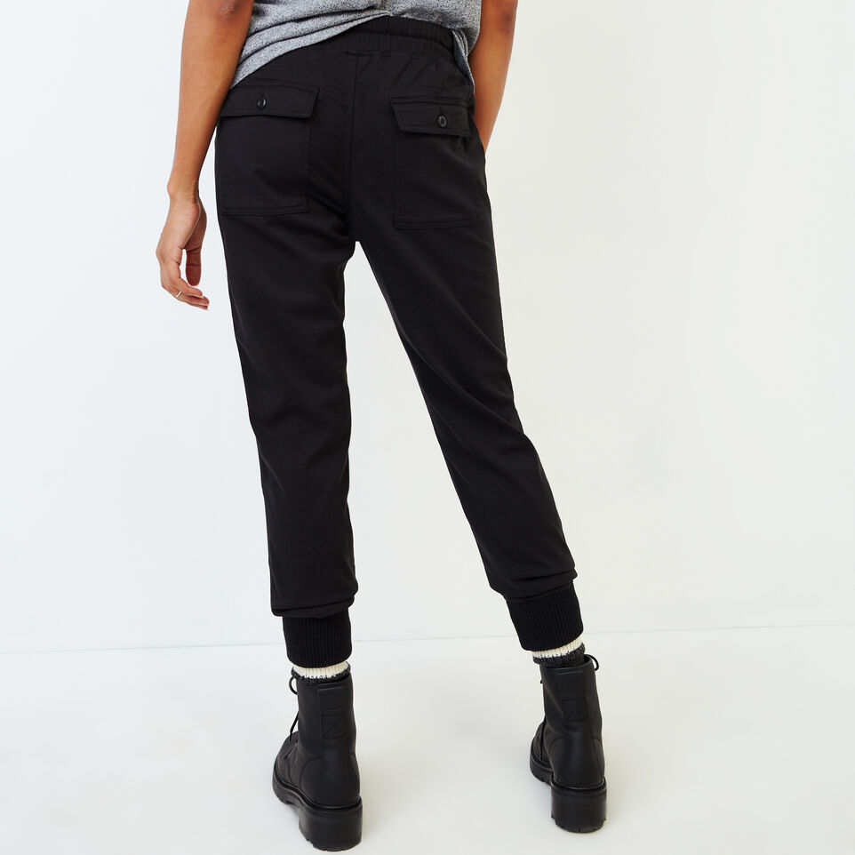 Roots-Women Our Favourite New Arrivals-Essential Jogger-Black-D
