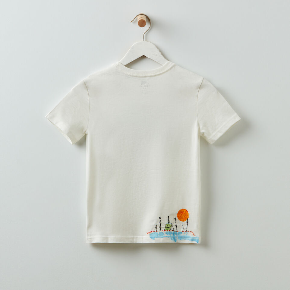 Roots-undefined-Roots x Billy Bamboo Organic T-shirt - Kids-undefined-B