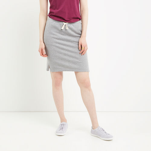 Roots-Women Bottoms-Mabel Lake Skirt-Salt & Pepper-A
