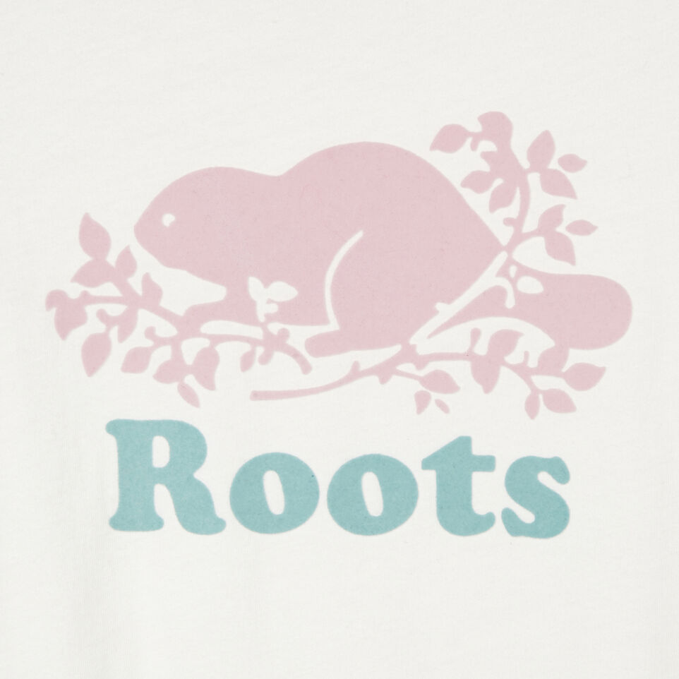 Roots-undefined-T-shirt original Cooper le castor pour filles-undefined-D