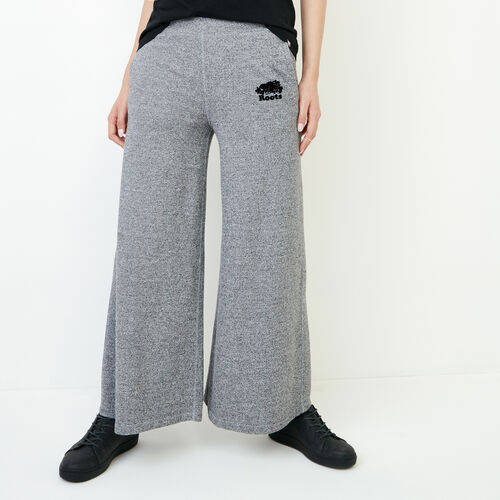 Roots-New For January Women-Roots Salt and Pepper Culotte-Salt & Pepper-A