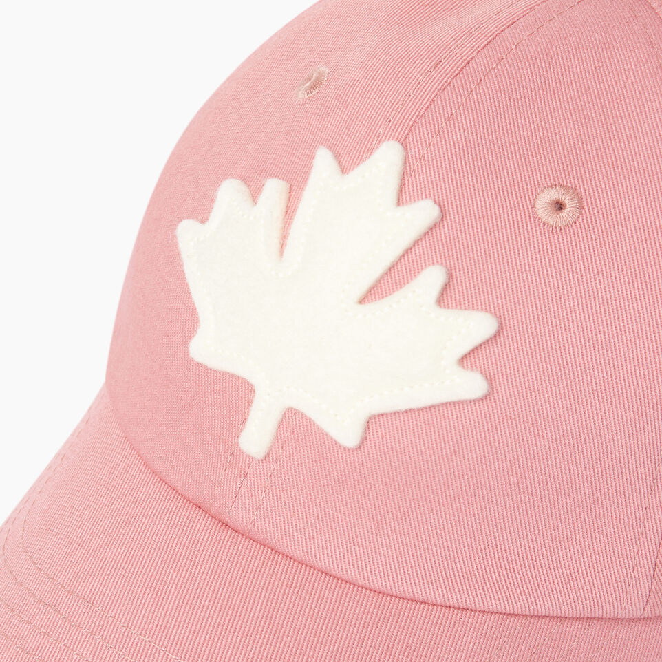 Roots-Kids Our Favourite New Arrivals-Kids Canada Baseball Cap-Pink-D