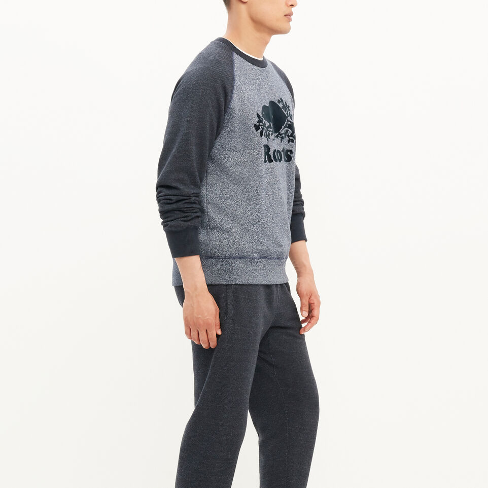 Roots-undefined-Original Contrast Crewneck Sweatshirt-undefined-C