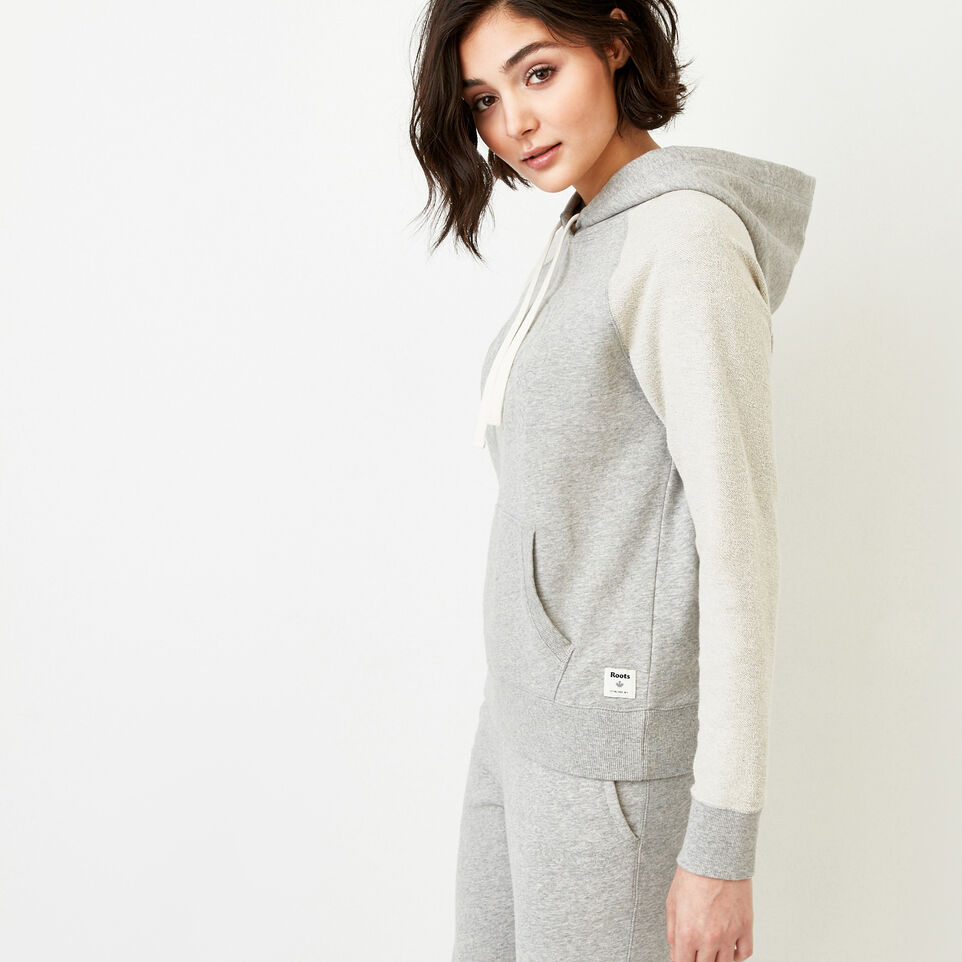 Roots-Women Our Favourite New Arrivals-Weymouth Hoody-Grey Mix-C