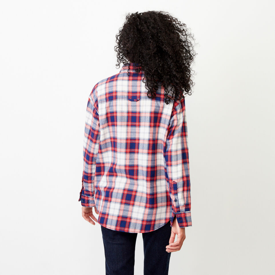 Roots-Women Our Favourite New Arrivals-Alaina Boyfriend Shirt-Lollipop-D