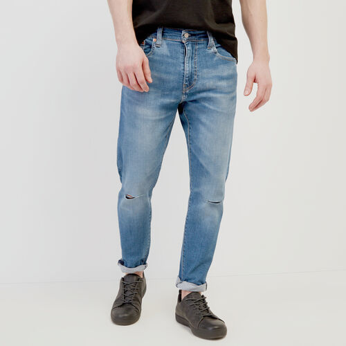 Roots-New For February Levi's-Levi's 512 Jean 30-Light Denim-A