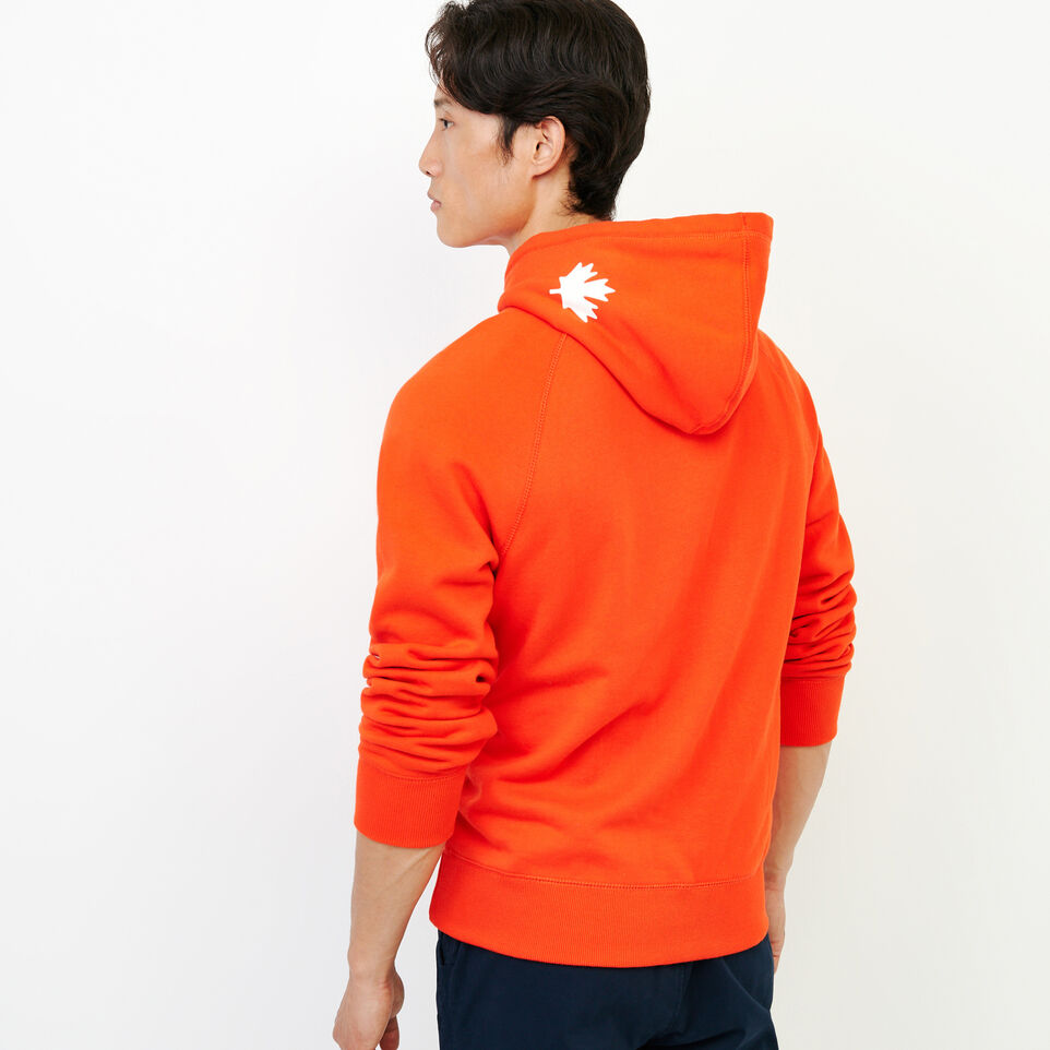 Roots-Men Our Favourite New Arrivals-Original Kanga Hoody-Spicy Orange-D