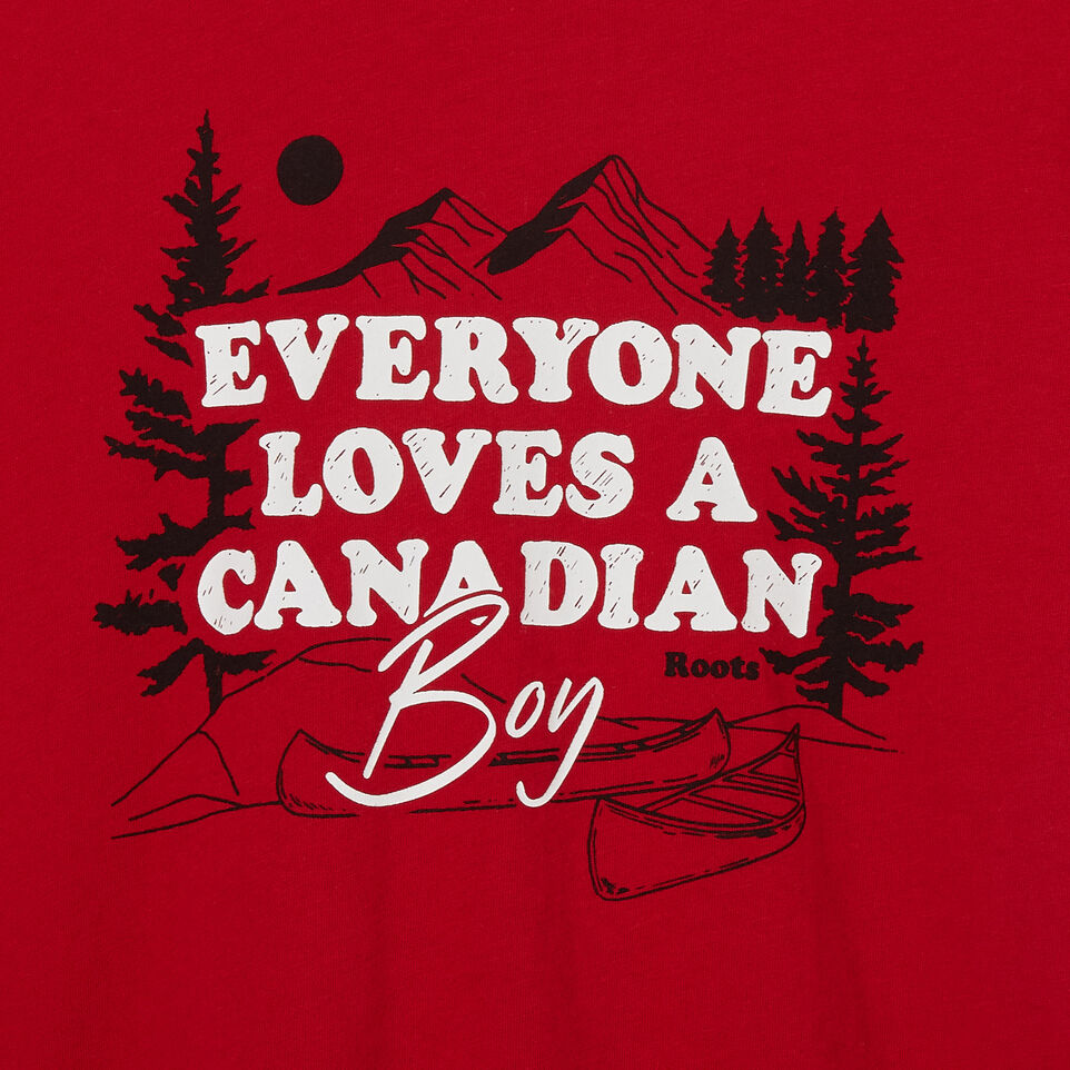 Roots-undefined-Boys Canadian Boy Ringer T-shirt-undefined-C
