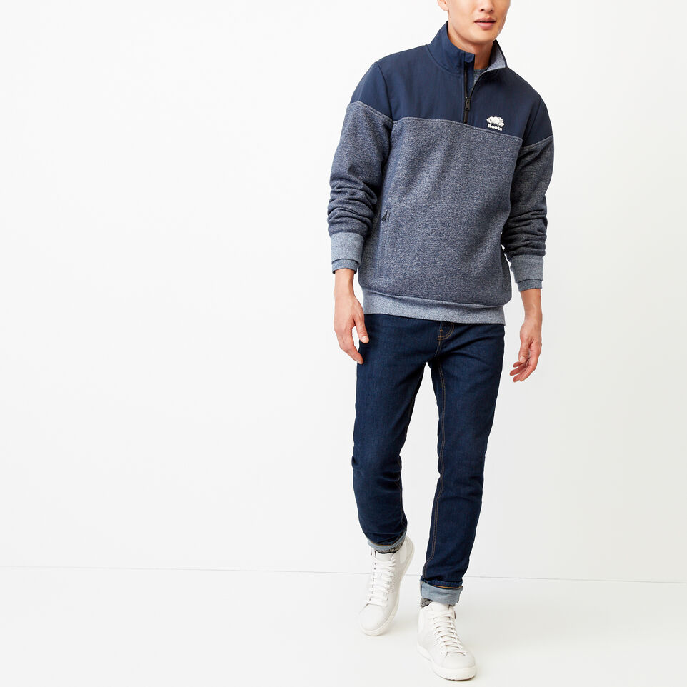 Roots-undefined-Mt. Odin Half Zip Sweatshirt-undefined-B
