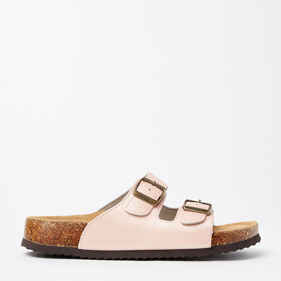 Roots-Womens Natural 2-Strap Sandal