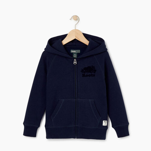 Roots-Kids Our Favourite New Arrivals-Toddler Original Full Zip Hoody-Navy Blazer-A