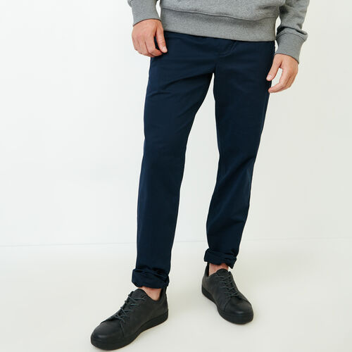 Roots-Clearance Men-Essential Pant-Navy Blazer-A