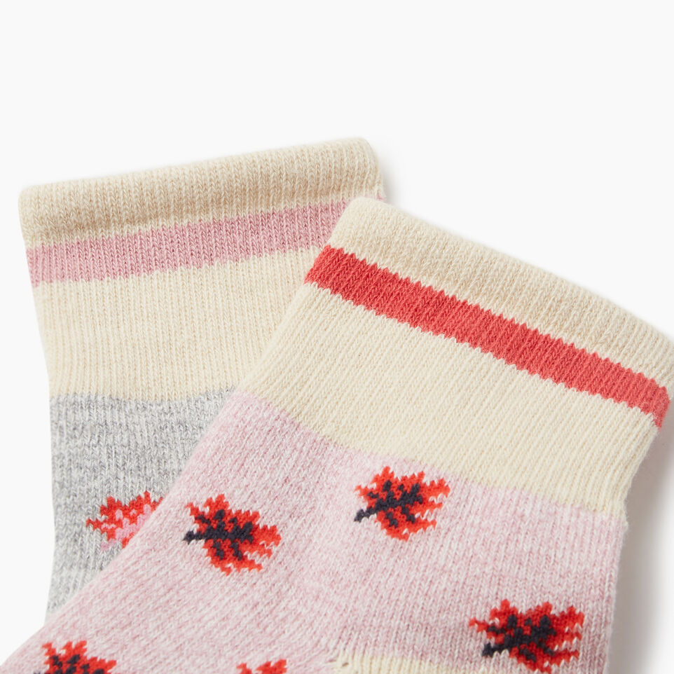Roots-undefined-Maple Cabin Ankle Sock 2 pack-undefined-C