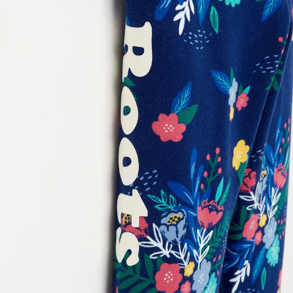 Roots-undefined-Girls Roots Remix Floral Sweatpant-undefined-D