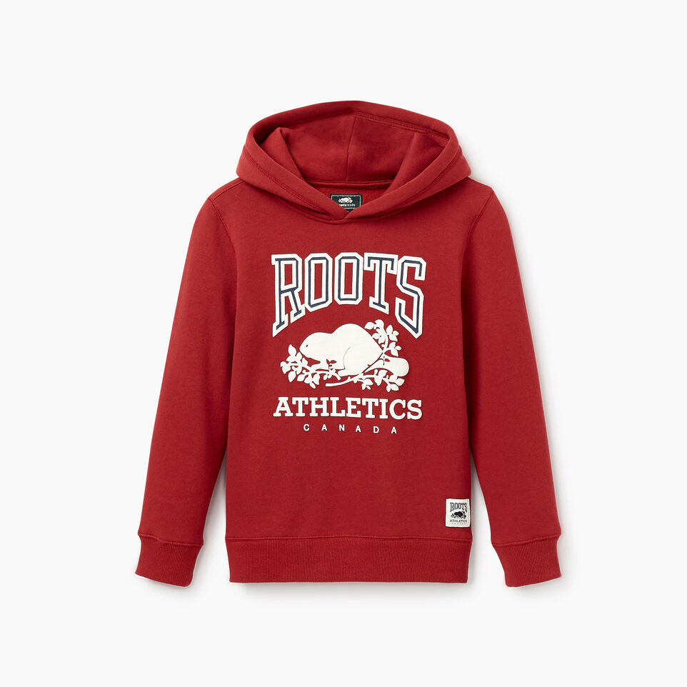 Roots-Kids New Arrivals-Boys RBA Hoody-Rosewood-B