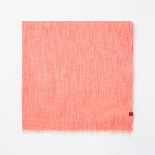 Roots-Sale 30-40% Off-Beachcomber Scarf-Spiced Coral-A