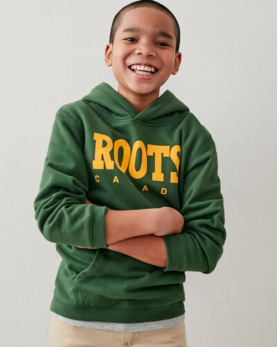Roots-Kids Bestsellers-Boys Retro Oversized Kanga-Camp Green-A