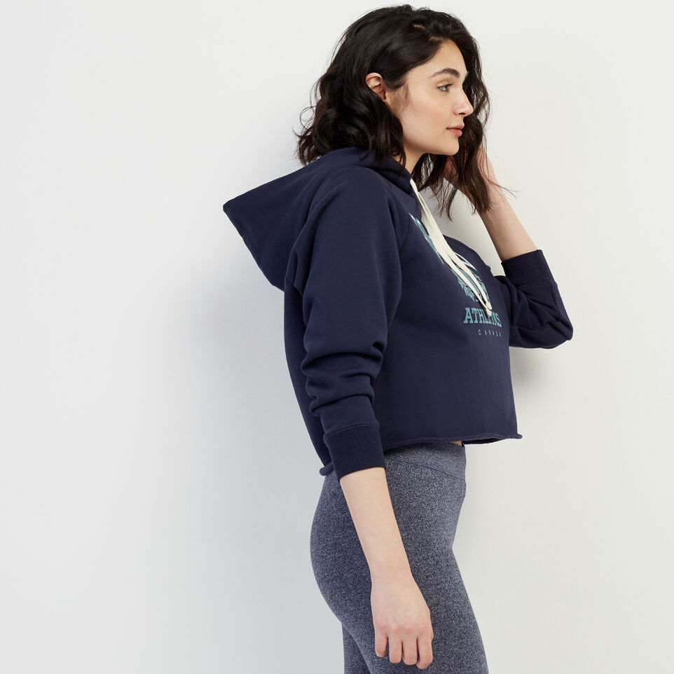 Roots-New For March Rba Collection-RBA Cropped Hoody-Navy Blazer-C