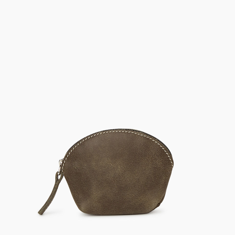 Roots-Women Categories-Small Euro Pouch-Pine-A