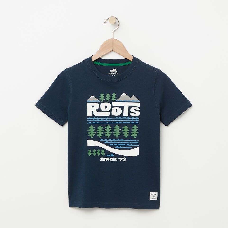 Roots-Boys Glow In The Dark T-shirt