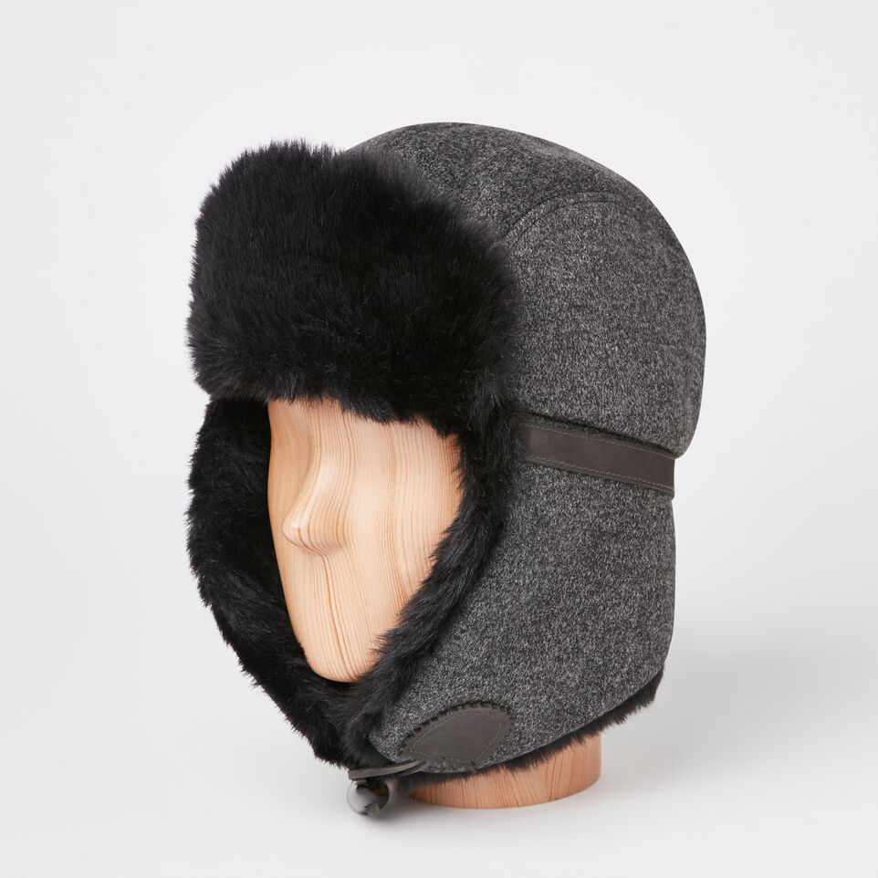 Roots-undefined-Mens Harding Trapper Hat-undefined-B