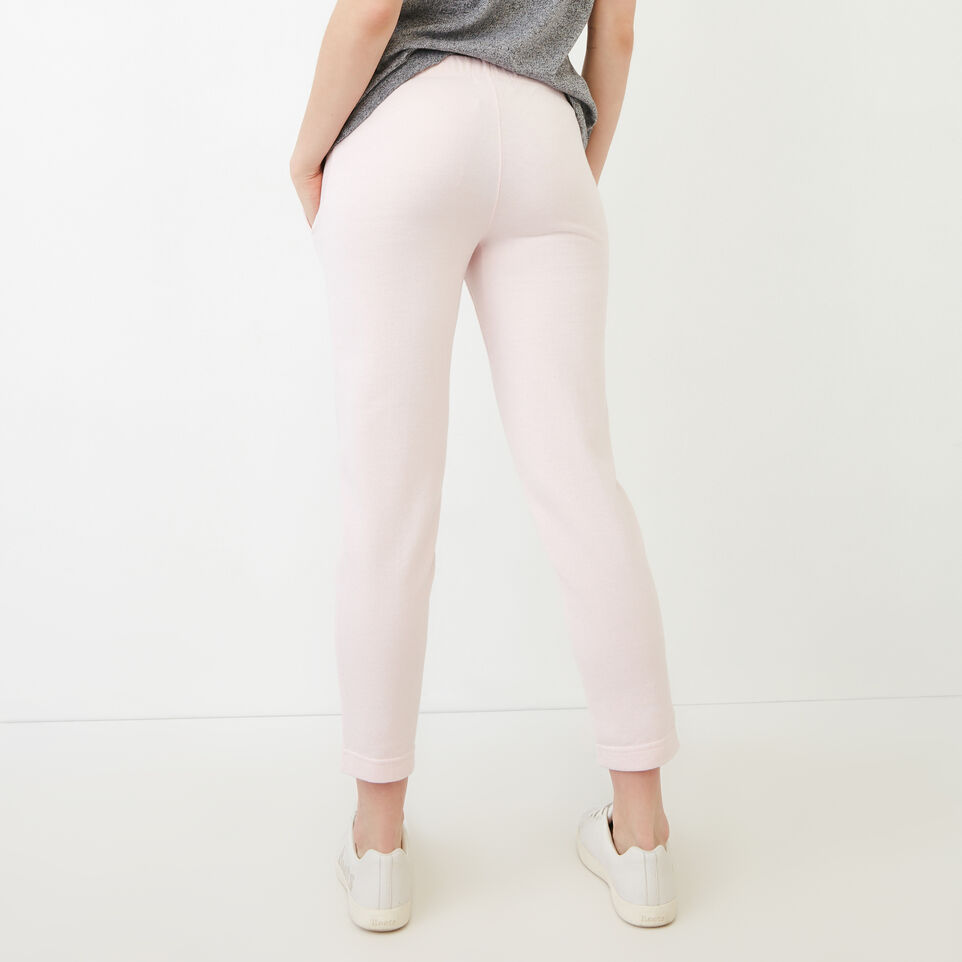 Roots-Sweats Sweatpants-Easy Ankle French Terry Sweatpant-Cradle Pink Pepper-D